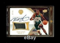 07-08 Kevin Durant Ud Exquisite Jersey Auto Rookie Rc /35 5-color Patch