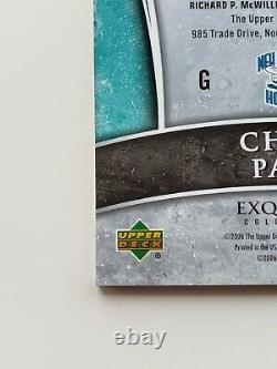 2005-06 Ud Exquisite Chris Paul 4-color Patch Auto Rookie Rc #72/100 Rpa Phx
