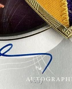 2006-07 Exquisite Kobe Bryant 2 Color Jersey Patch Auto Autograph 34/100 Lakers