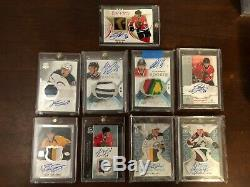 2007-08 Upper Deck The Cup #190 Jonathan Toews Rpa Rc Patch Auto 3 Color 96/99