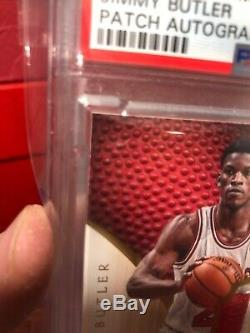2012 Immaculate Jimmy Butler Rpa 3 Color Rc Patch Auto Psa 10 #/99 New Slab 2day