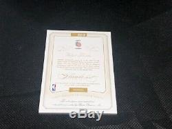 2014-15 Flawless Basketball Clyde Drexler 3 Color Dual Patch Auto /25 Blazers
