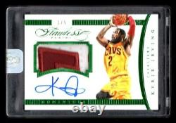 2014-15 Panini Flawless Momentous Kyrie Irving Emerald 2 Color Patch Auto #1/5