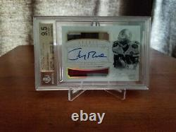 2014 Panini Flawless Jerry Rice Greats Dual 4 Color Patch Auto/10 BGS 9.5/10