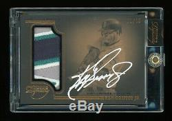 2014 Topps Dynasty Ken Griffey Jr #1/10 AUTO 4-Color Patch Mariners w box