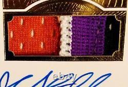 2015 Flawless John Stockton Rare Alternate Jersey 4-color 2x Dual Patch Auto