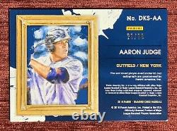 2016 Diamond Kings AARON JUDGE #/99 Rookie 3 Color Patch Auto RPA NY Yankees