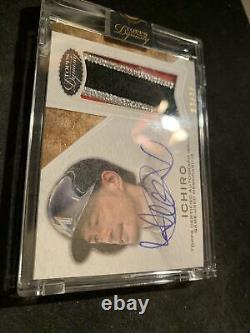 2016 Topps Dynasty Dynastic Deed Suzuki Ichiro 3 Color Patch Auto /10