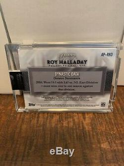 2017 Topps Dynasty Roy Halladay Three Color Patch Auto 2/10