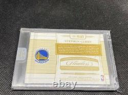 2018-19 Flawless Basketball Stephen Curry 2 Color Logo Patch Auto 25/25 Warriors