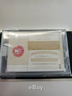2018-19 Flawless RPA Trae Young 15/15 Encased Auto Tri Color patch
