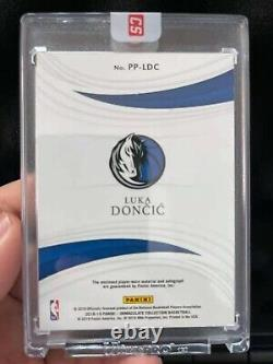 2018-19 Immaculate Acetate #PP-LDC Luka Doncic RPA RC 3-Color Patch AUTO /25