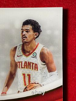 2018-19 Immaculate RC Trae Young AUTO Jumbo 3-Color Patch # /50 Hawks