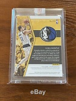 2018-19 Opulence LUKA DONCIC /79 RC Rookie 2-Color Patch Auto (RPA) Future MVP