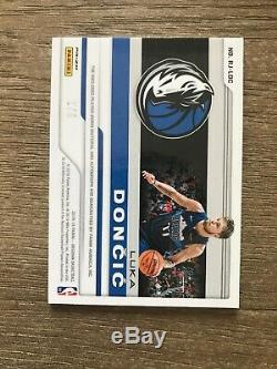 2018-19 Panini Obsidian LUKA DONCIC 3 Color Rookie Patch auto /5 RPA Mavs