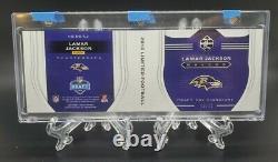 2018 Limited LAMAR JACKSON RC RPA Auto /55 4 Color Patch Ravens