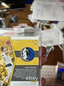 2018 Luka Doncic Opulence Gold RPA /25 Patch Auto 3 Color Patch