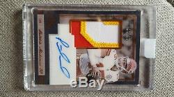 2018 PANINI ONE PATCH AUTO 11/25 PATRICK MAHOMES 3 color on card encased