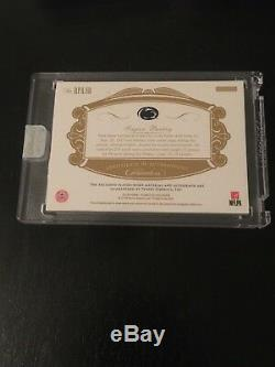 2018 Saquon Barkley Flawless 3/5 Rookie 4 Color Prime Rose Bowl Patch Auto
