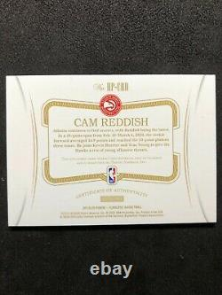 2019-20 Flawless Cam Reddish Rookie on card Auto HP-CRD 8/25 3 color patch RC
