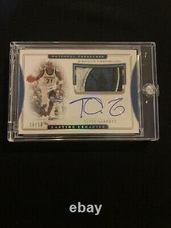 2019-20 National Treasures Kevin Garnett T-wolves 5-color Patch Auto #10/10