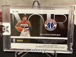 2019-20 Noir Basketball #358 Color Patch Auto Rui Hachimura #47/99