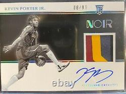 2019-20 Panini NOIR Kevin Porter Jr RC RPA On Card Auto 3 Color Patch /99