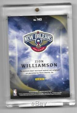 2019/20 Panini Origins Zion Williamson 3 Color Logo Auto ...