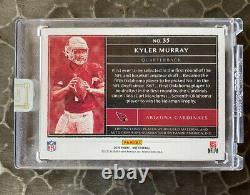 2019 Panini One #35 Kyler Murray Blue RPA 3 Color Rookie Patch Auto RC /99