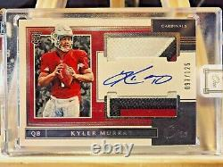 2019 Panini One Kyler Murray Dual 3 COLORS Patch Auto 097/125 ROOKIE RPA RC