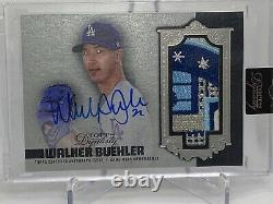 2019 Topps Dynasty Walker Buehler 1/5 60th Anniversary Sick 4 Color Auto Patch