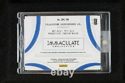 2019 Vladimir Guerrero Jr Immaculate Rookie RC G/U Patch 2 Color Auto RPA /5