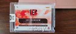 2020 Origins Joe Burrow Rc Red 3 Color Patch Auto /99! Super Hot