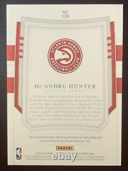 DEANDRE HUNTER National Treasures RPA /30 4-color Sick Patch Auto Limited