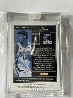 Ja Morant One And One Premium 3 Color Patch RC Auto RPA 09/35 Sealed
