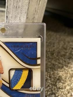 Justin Herbert 2020 Immaculate RPA 32/49 on card auto! 4 color patch