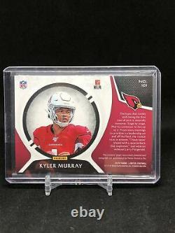 Kyler Murray 2019 Panini Limited RPA rookie patch on-card auto /149 2 colors