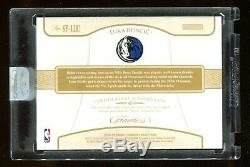 Luka Doncic 2018-19 Panini Flawless RPA 3 Color ROOKIE Jersey Patch Auto #/25 RC