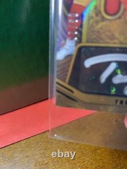 Trey Lance RPA FOTL Gold Standard 2 Color X2 #d/22 Rookie SP SSP auto 49ers