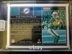 Tua Tagovailoa Panini One /25 RPA Factory Sealed 4-Color Patch On-Card Auto MINT
